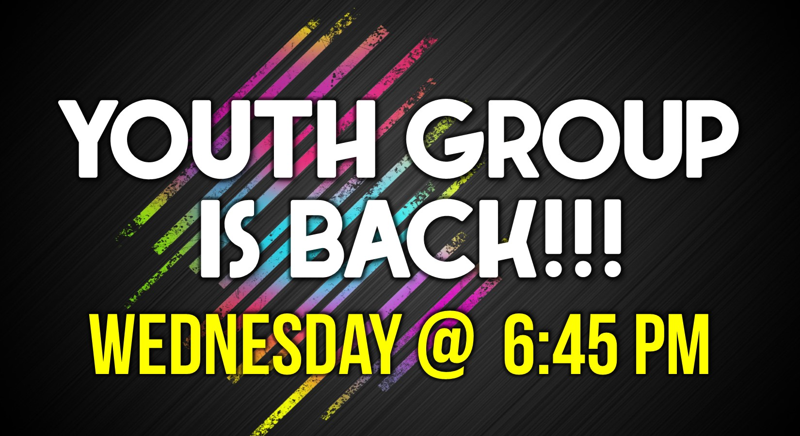 9-16-20 Youth Group is Back