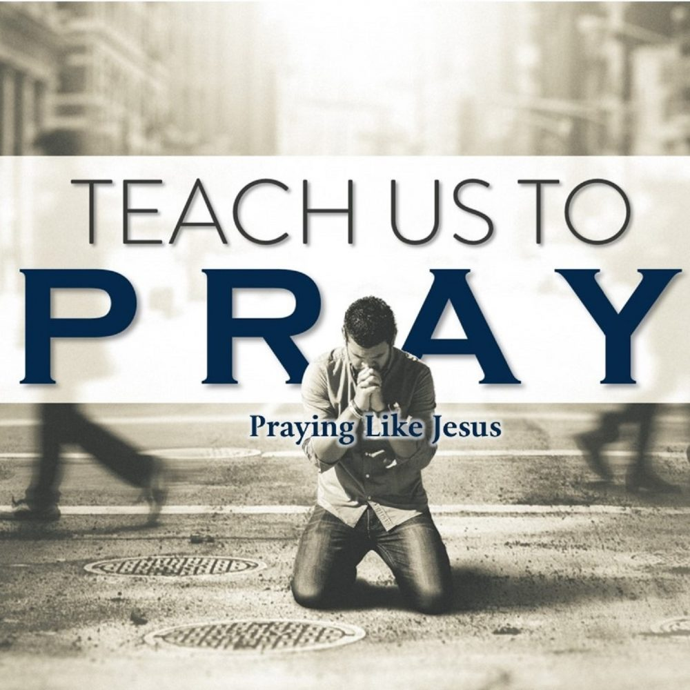 Praying Like Jesus Image