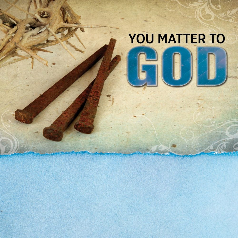 You Matter To God Image