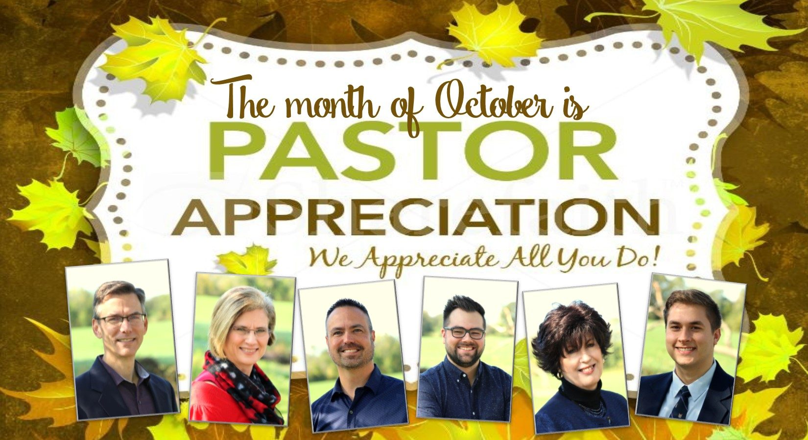 10-16-19 Pastor appreciation month