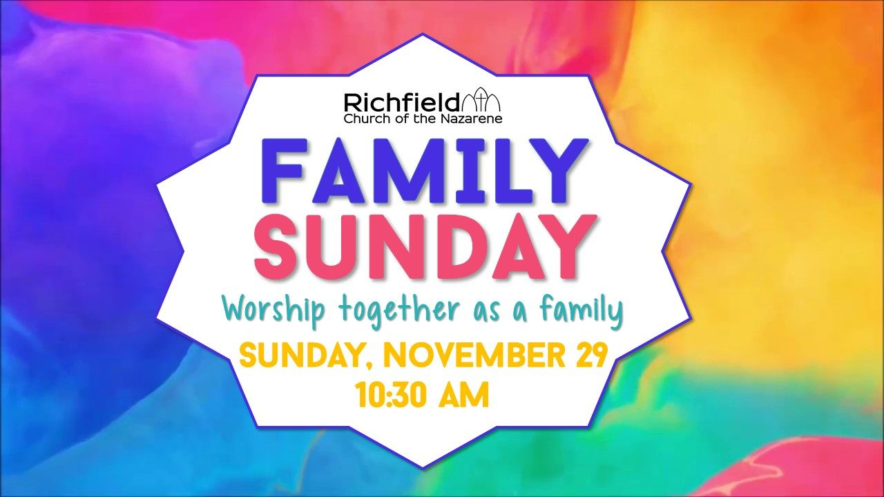 Family Sunday November