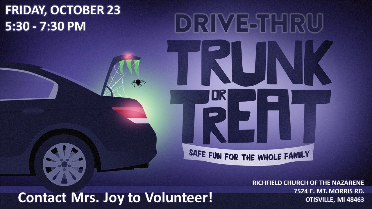 Trunk or Treat for Web